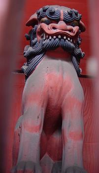 随身門の狛犬