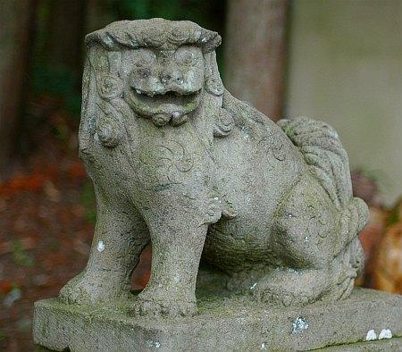 板宮神社の阿