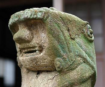 松蔭寺の狛犬