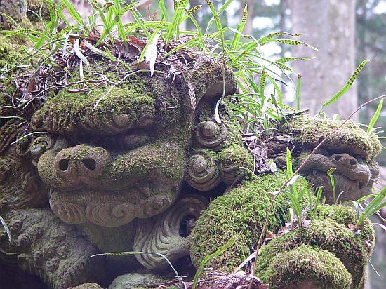 鐘鋳神社 吽の顔